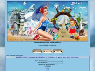 Forumactif.com : Forum Friendship and Graphics