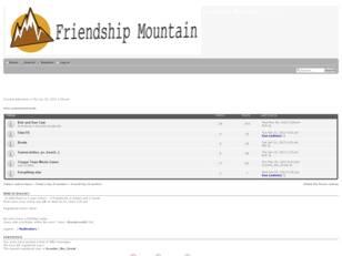 Friendship Mountain
