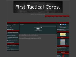 First Tactical Corps.