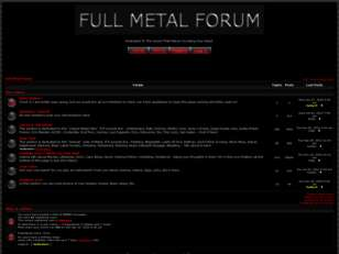 Free forum : Full Metal Forum