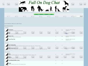 Free forum : Full On Dog Chat