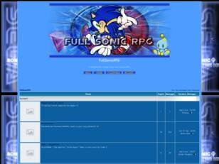 FullSonicRPG - Welcome to the Sonic's world ~