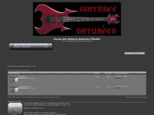 Forum des Guitares Saturees d'Énefel