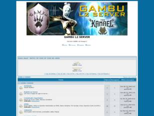 Forum gratis : GAMBU L2 SERVER