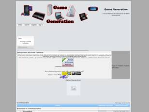 Forum gratis : Game Generation