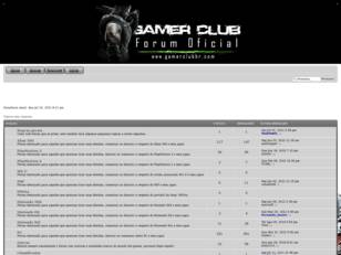 Fórum Gamer Club