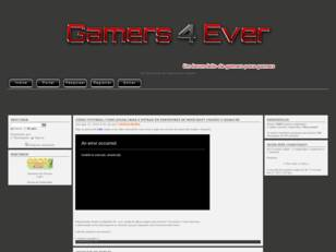 Gamers 4 Ever: De Gamers para Gamers!