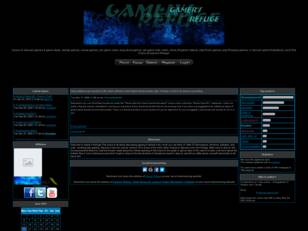 Gamers Refuge, Forum for Game Discussion & Debate!