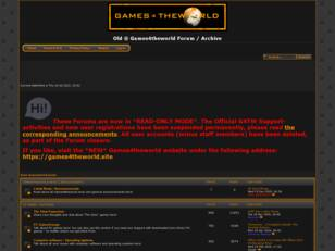 ® Games4theworld Official Forum