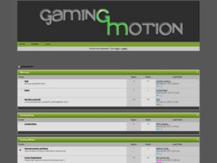 Gaming Motion