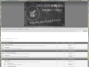 Geisterwolves Airsoft Team - Forum