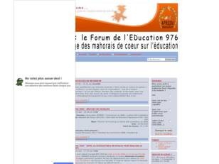 FEd976 - le Forum de l'EDucation 976