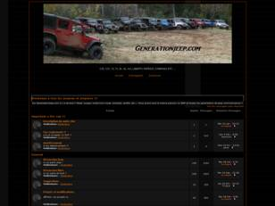 forum de jeep GenerationJeep