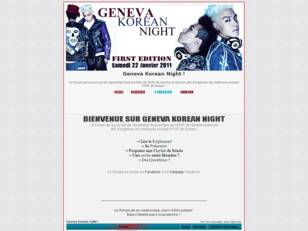 Geneva Korean Night
