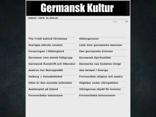 Germansk Kultur