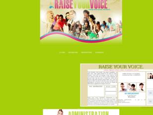 → RAISE YOUR VOICE