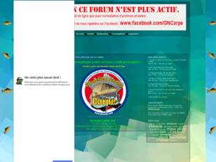Forum du Groupement National Carpe
