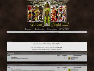 Forum de la guilde Golden Night