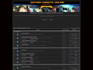 Batman: Gotham Knights Online Forum