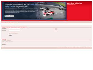 Free forum : gpro racing data collection