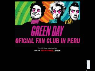 """The Class Of 13"" Oficial Fan Club Of Green Day"