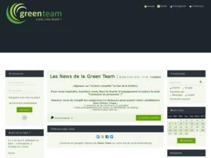 créer un forum : Green Team