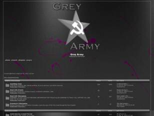 The Grey Army's Forum