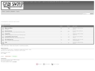 Free forum : Grim Sword