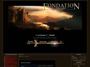 Guilde Fondation sur Vanguard