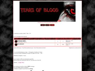 Forum de la guilde Tears of Blood