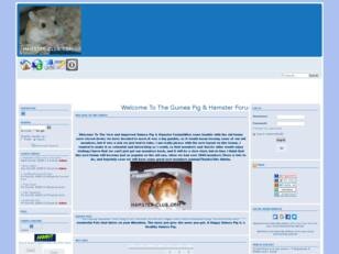 A Great Forum For Hamster & Guinea P