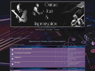 Guitare Jazz & improvisation