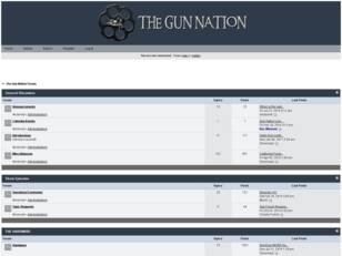 The Gun Nation Forum