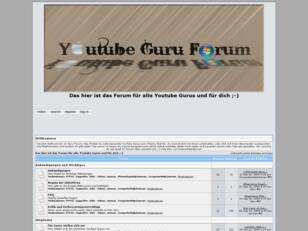 Das YouTube guru Forum