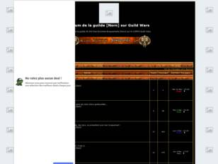 Forum de la guilde [Norn] sur Guild Wars