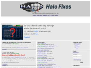 Halo Fixes