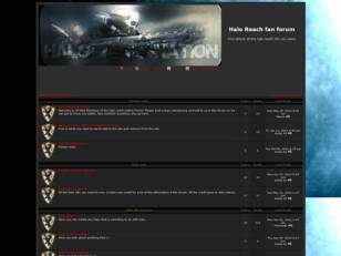 Halo Reach fan forum