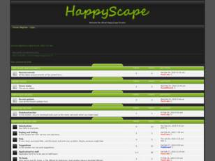 HappyScape Official Forums