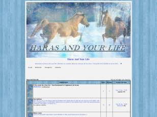 créer un forum : Le haras and your life