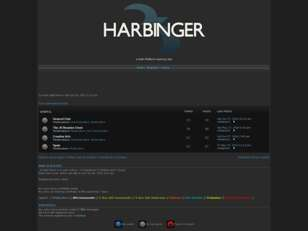 Harbinger Forums