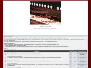 Harmonium et Anches Libres - Forum de discussions