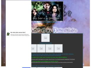 Harry Potter et les Elementalistes