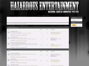 Hazardous Entertainment