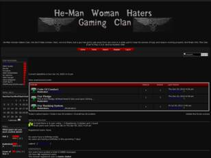 Free forum : He-Man Woman Haters