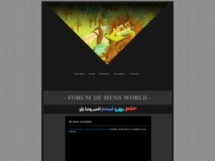 Forum Hens World