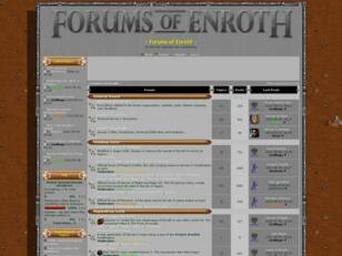 ~ Forums of Enroth ~