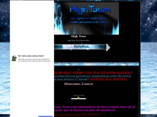 creer un forum : High Town