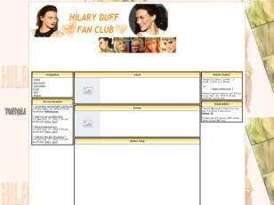 Hilary Duff-Fan Club!!