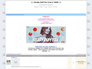 ♥ | HiLaRy Duff Fan CLub © 2009 | ♥
