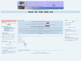 Astrodene's Historic Naval Fiction Forum